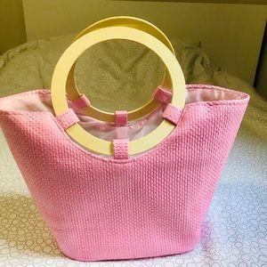Spa/ beach straw bag